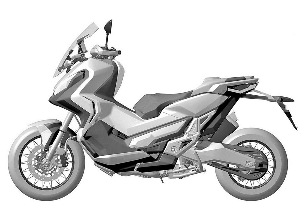 Leaked 2017 Honda City Adventure Motorcycle Pictures / Specs / Release Date - ADV DCT Automatic Motorcycle Scooter