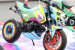 Custom 2017 Honda Grom Paint / MSX 125 Motorcycle - Mini Naked Sport Bike / StreetFighter - MSX125SF