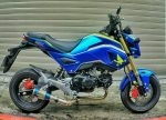 Custom 2017 Honda Grom / MSX 125 Motorcycle - Mini Naked Sport Bike / StreetFighter - MSX125SF