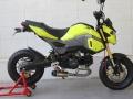 2017 Honda Grom Tyga Exhaust - UnderBody Short Muffler - MSX 125 / MSX125SF / 125cc Motorcycle - Mini Sport Bike / StreetFighter