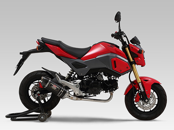 2017 Honda Grom Exhaust Review - R-77S Muffler - MSX / MSX 125 / MSX125SF - Motorcycle / Mini Naked Sport Bike / StreetFighter