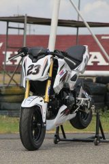 2017 Honda Grom MSX 125 HRC Race Bike / Motorcycle - Performance Mods / Parts: Exhaust, Ohlins Suspension, Track Plastics & Bodywork