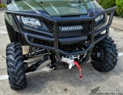 Honda Pioneer 700 Front Bumper & Winch - Brush Guard - Side by Side / ATV / UTV / SxS / Utility Vehicle 4x4 - SXS700 Accessories & Parts