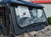 Honda Pioneer 700 Glass Windshield & Wiper Review - Side by Side / ATV / UTV / SxS / Utility Vehicle 4x4 - SXS700 Accessories & Parts
