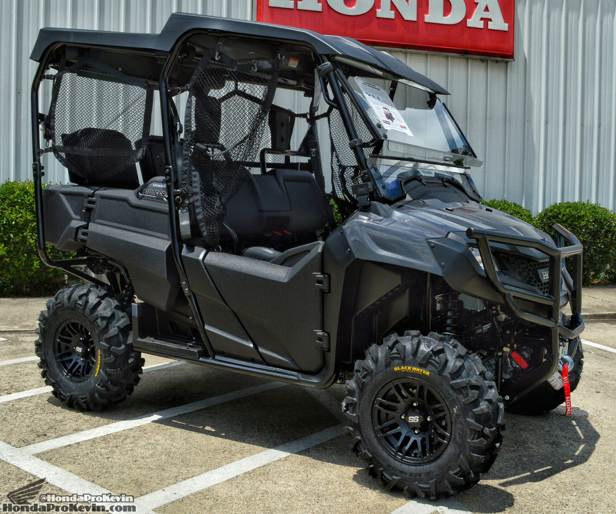 Honda Pioneer 700 4 Windshield >> 2017 Honda Pioneer 700 Review | Deluxe Model Changes & Specs, Features, Accessories + More ...