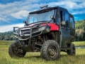 Honda Pioneer 700-4 Accessories Review - Bumpers, LED Lights, Windshield, Doors, Top / Roof - Side by Side ATV / UTV / SxS / Utility Vehicle SXS700