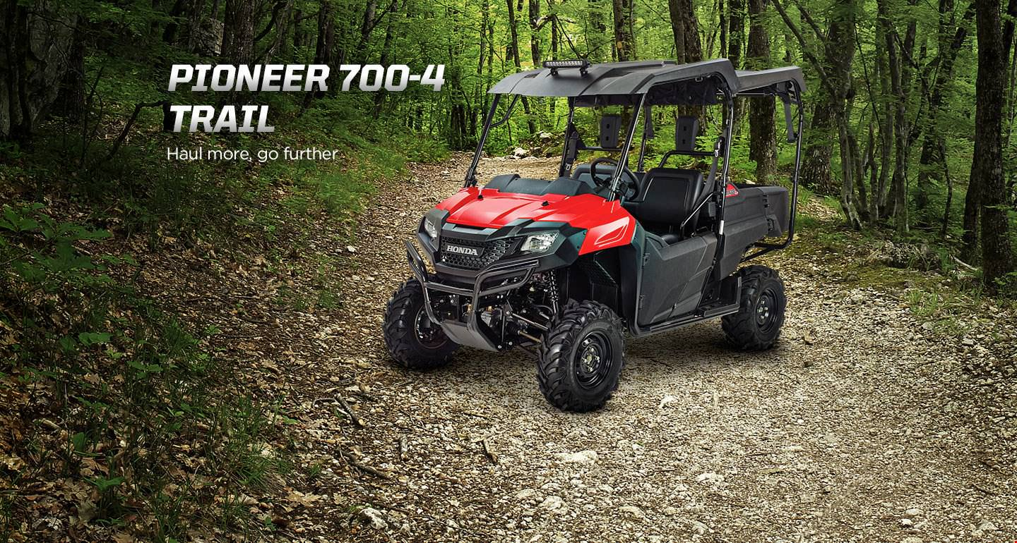 Honda Pioneer 700-4 Trail Accessories Package Review - Hard Top / Roof, LED Lights, Wheels & Tires, Windshield / Windscreen - Side by Side ATV / UTV / SxS / Utility Vehicle 4x4 - SXS700M4