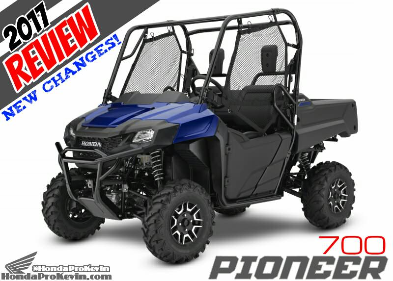 2017 Honda Pioneer 700 Deluxe Review / Specs & Changes - Side by Side ATV / UTV / SxS / Utility Vehicle 4x4 SXS700M2