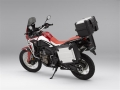 2018 Honda Africa Twin CRF1000L Accessories - Saddlebags / Panniers - Trunk / Top Case - Center Stand - Tall Windshield - Crash / Light bar