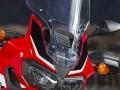 2018 Honda Africa Twin CRF1000L Accessories - Saddlebags / Panniers - Trunk / Top Case - Center Stand - Tall Windshield - Crash / Light bar