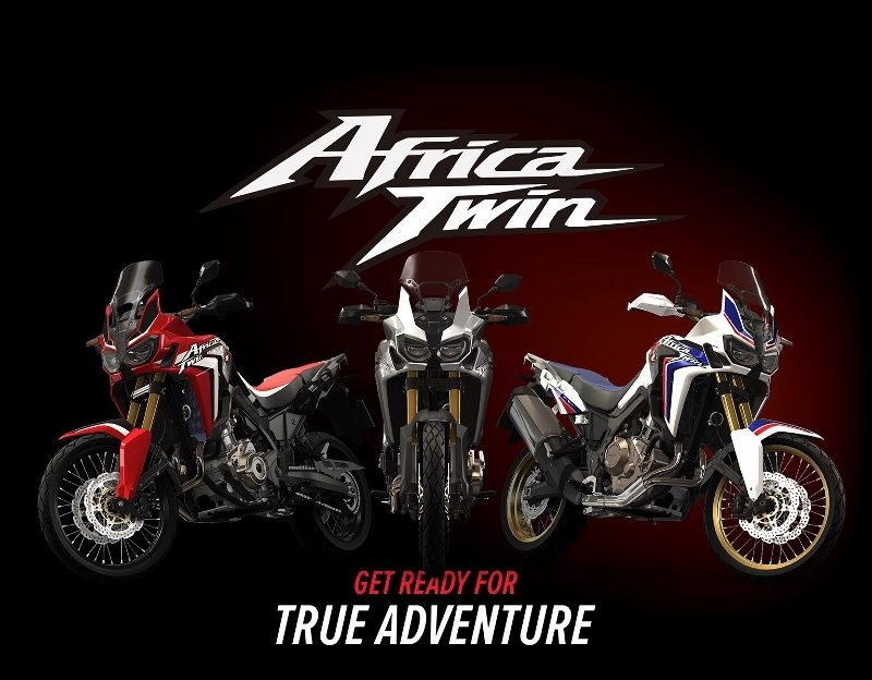 2016 Honda Africa Twin CRF1000L Adventure Motorcycle / Bike / Dual Sport CRF 1000