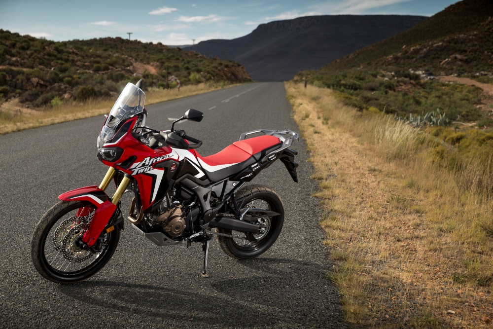 New 2016 Honda Africa Twin CRF1000L Pictures / Photo