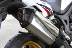 Honda Africa Twin Exhaust - Review / Specs - CRF1000L - Adventure Motorcycle & Dual Sport Bike - CRF 1000 L - CRF1000 L