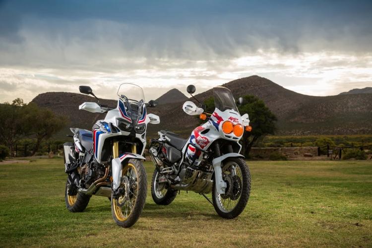 Honda Africa Twin CRF1000L vs XRV750 / XRV650 - Adventure Motorcycles / Bikes
