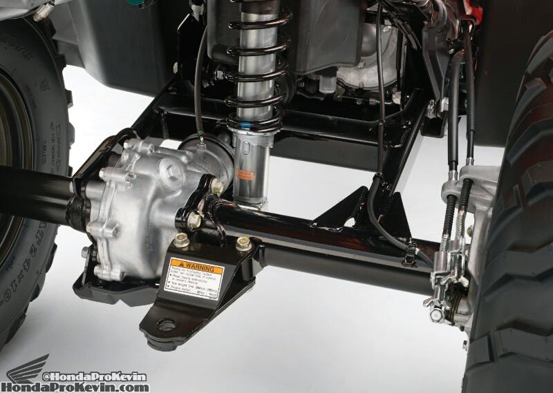 2022 Honda Rancher 420 ATV Brakes - Review / Specs - Rancher 420 / Foreman 500 / Rubicon 500 Four Wheeler