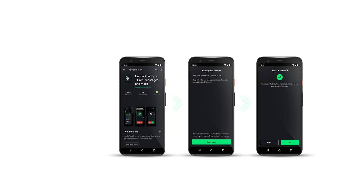 Honda Roadsync Smartphone App for Honda Motorcycles | Bluetooth