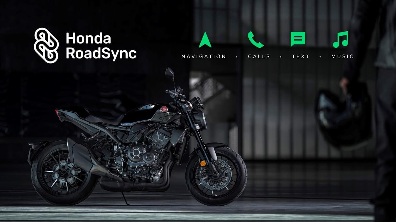 Honda Bluetooth Roadsync Motorcycle Smartphone App / Smart Phone Voice Control system