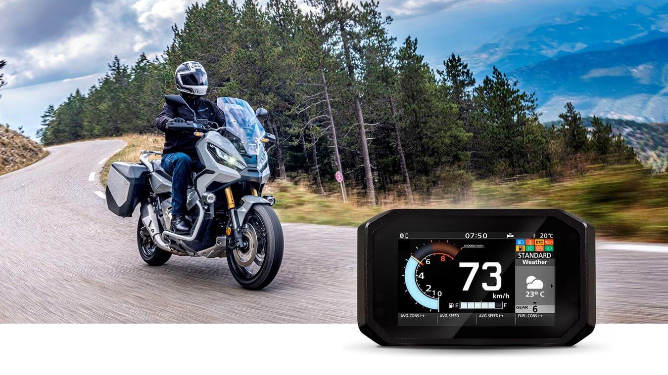 Weather: Honda Roadsync Motorcycle Smartphone App / Smart Phone Voice Control system