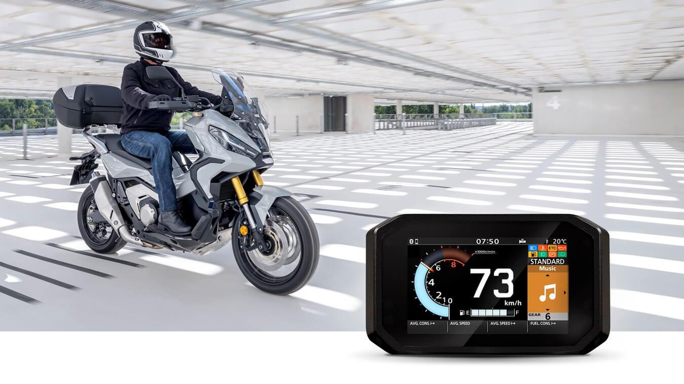 Music: Honda Roadsync Motorcycle Smartphone App / Smart Phone Voice Control system