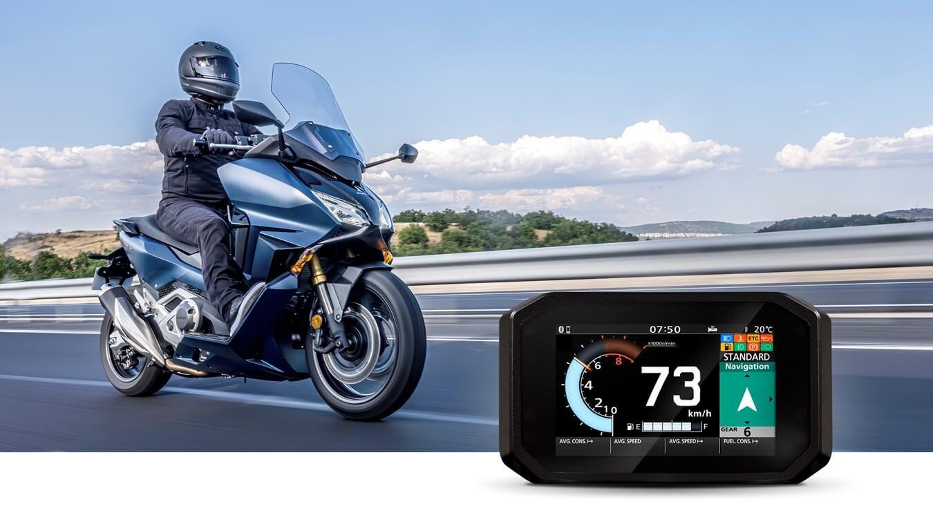 Navigation: Honda Roadsync Bluetooth Motorcycle Smartphone App / Smart Phone Voice Control system