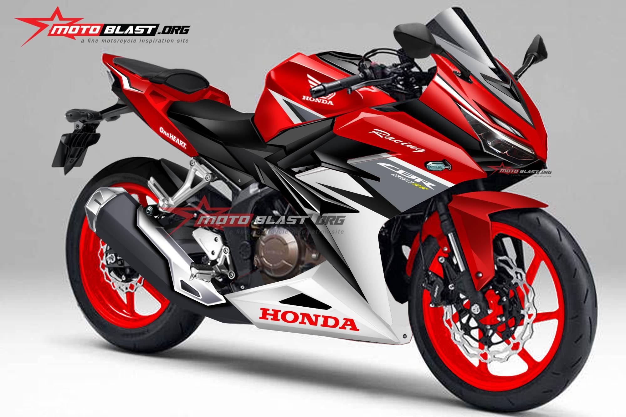 2017 Honda CBR350RR & CBR250RR = New CBR Model Lineup
