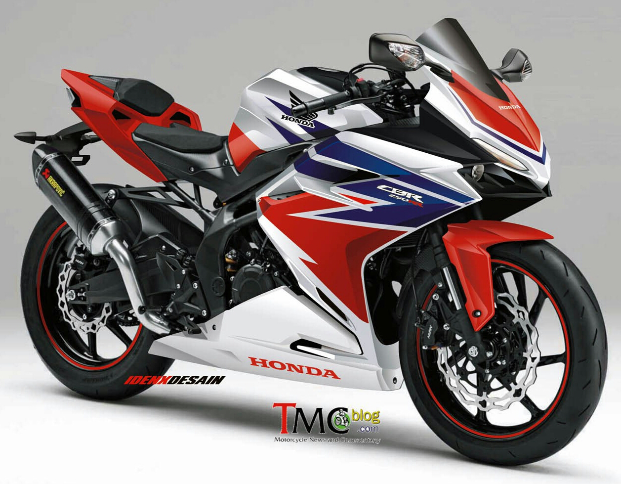 Concept 2017 Honda CBR250RR SportBike Motorcycle | CBR350RR CBR300RR