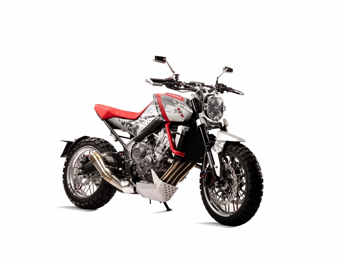 Honda CBsix50 Concept Motorcycle - Naked Scrambler / CBR StreetFighter Bike - CBR650F - CB650F