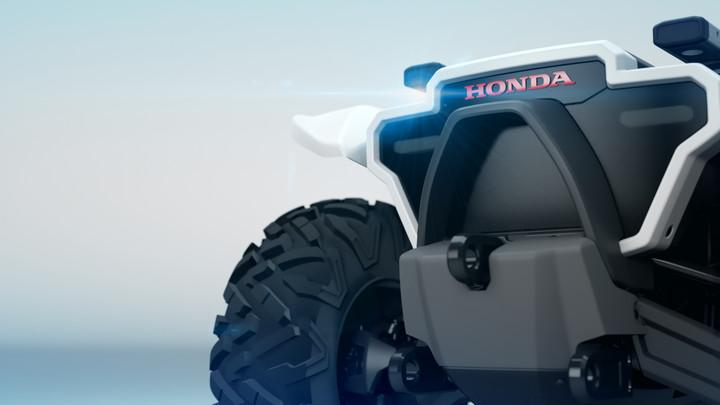 2018 Honda CES Concept Robots - 3E-D18 | Off-Road ATV / Mobility Device