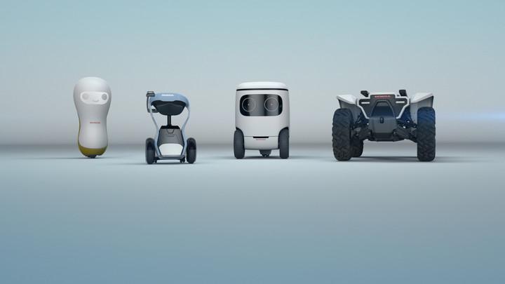 2018 Honda CES Concept Robots | Off-Road ATV Mobility Device
