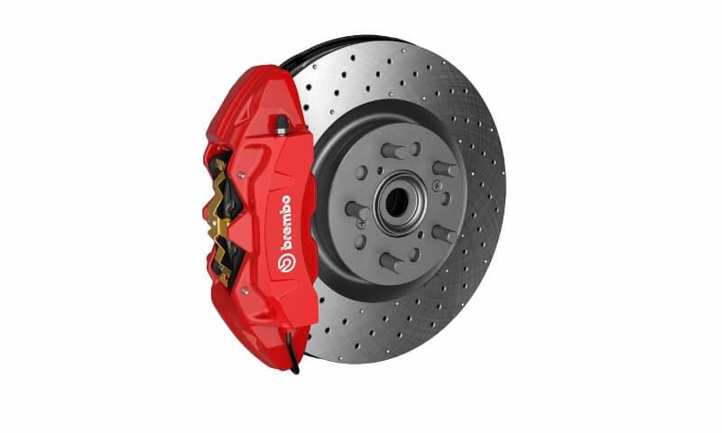 2017-2018 Honda Civic Type R Brembo Brakes / Rotors