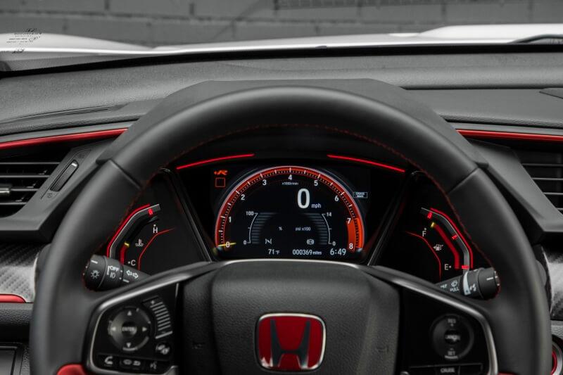 2017-2018 Honda Civic Type R Gauges / Meter Cluster - FK8 Hatchback CTR Turbo