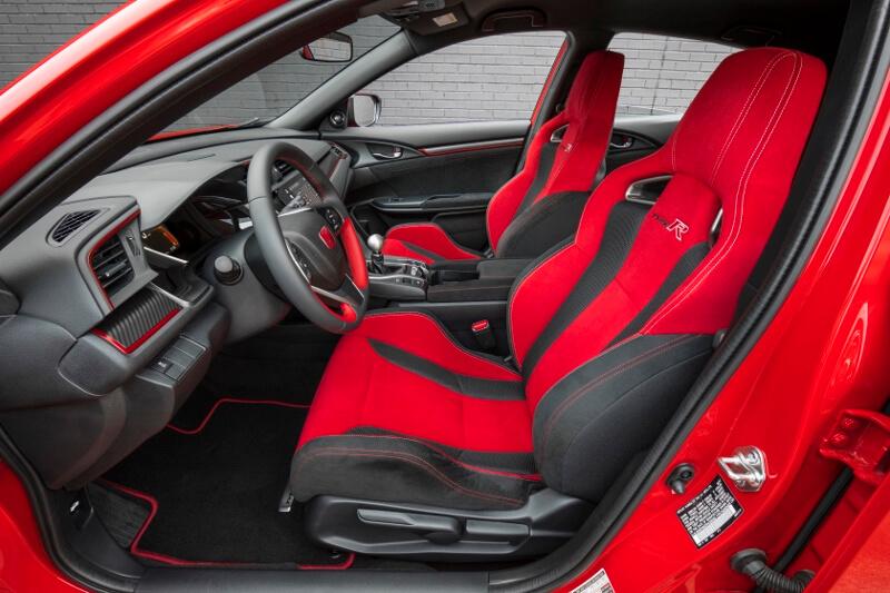 2017-2018 Honda Civic Type R Interior / Inside Cabin Pictures - FK8 Hatchback CTR Turbo