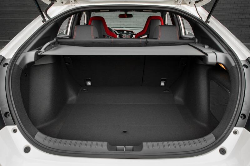 2017-2018 Honda Civic Type R Hatchback Interior / Inside Cabin Storage