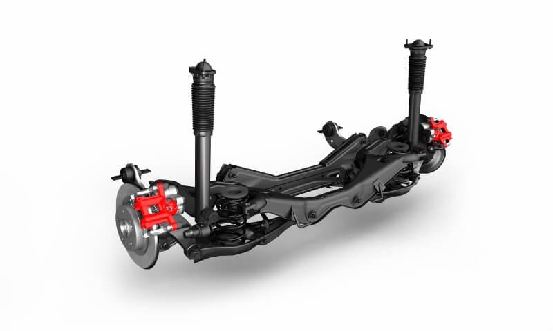 2017-2018 Honda Civic Type R Suspension