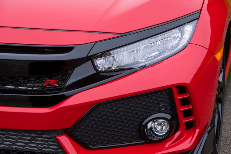 2017-2018 Honda Civic Type R Turbo Detailed Review / Specs - Hatchback CTR FK8 Red