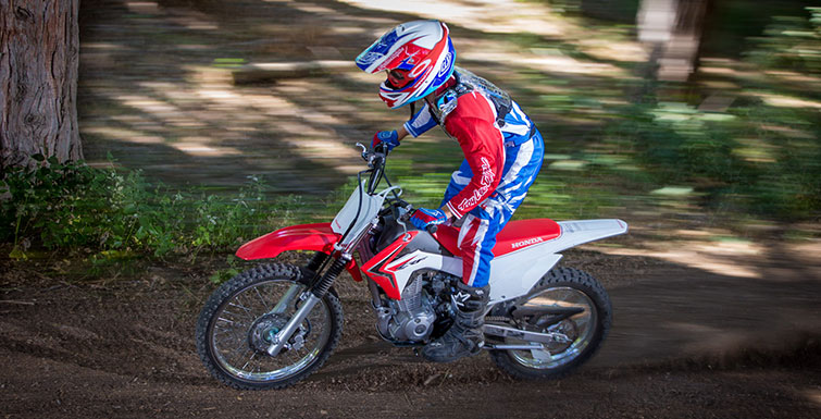 2018 Honda CRF125F Big Wheel (CRF125FB) Review / Specs - Dirt / Trail Bike - Off Road Motorcycle