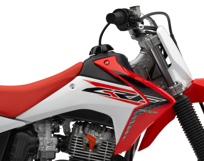 honda crff review specs crf cc dirt bike trail motorcycle