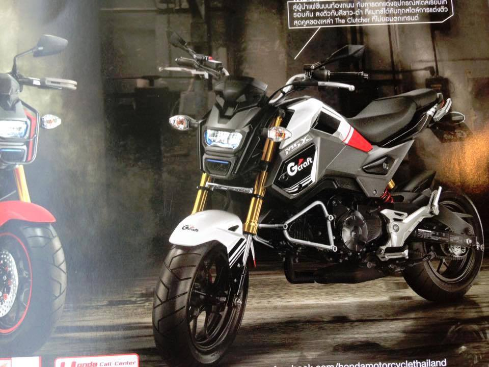 Honda MSX125 Will Make a Monkey Out of You - Asphalt & Rubber
