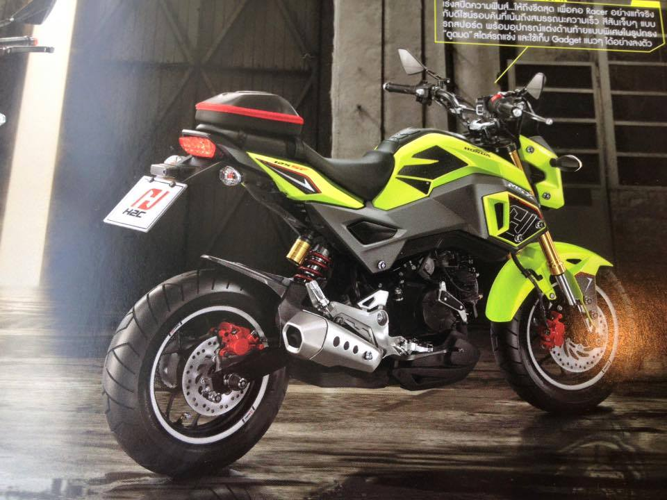 custom  honda grom msx  pictures photo gallery honda pro kevin