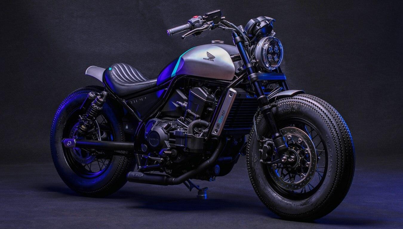 New Honda Rebel 1100 Bobber Motorcycle Released!
