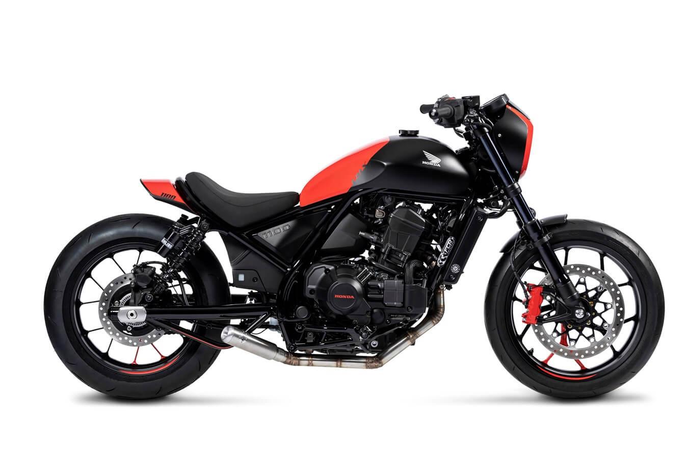 Custom Honda Rebel 1100 Sport Cruiser / Motorcycle | CMX 1100