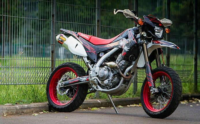 2016 Honda CRF250M Motard / SuperMoto CRF300M USA? New CBR