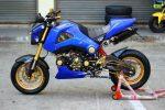 custom-honda-grom-msx125-blue-belly-pan-cowl-gold-wheels
