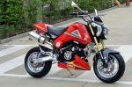 custom-honda-grom-msx125-body-panels-cowl-seat-exhaust-red