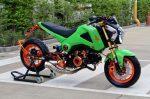 custom-honda-grom-msx125-lowered-green-exhaust-wheels
