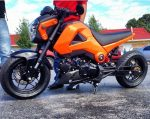 custom-honda-grom-msx125-orange-lowered-stretched-exhaust-wheels-cowl-plastics-body-fairings-