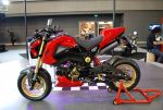 custom-honda-grom-msx125-red-belly-pan-cowl-wheels-exhaust