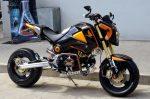custom-honda-grom-msx125-swingarm-wheels-exhaust-cowl-plastics-fairings-