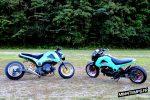 custom-honda-grom-msx125-teal-wheels-stretched-lowered-motorcycle