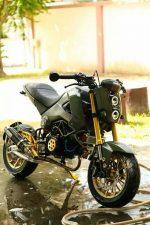 custom-honda-grom-msx125-wheels-head-light-exhaust-green